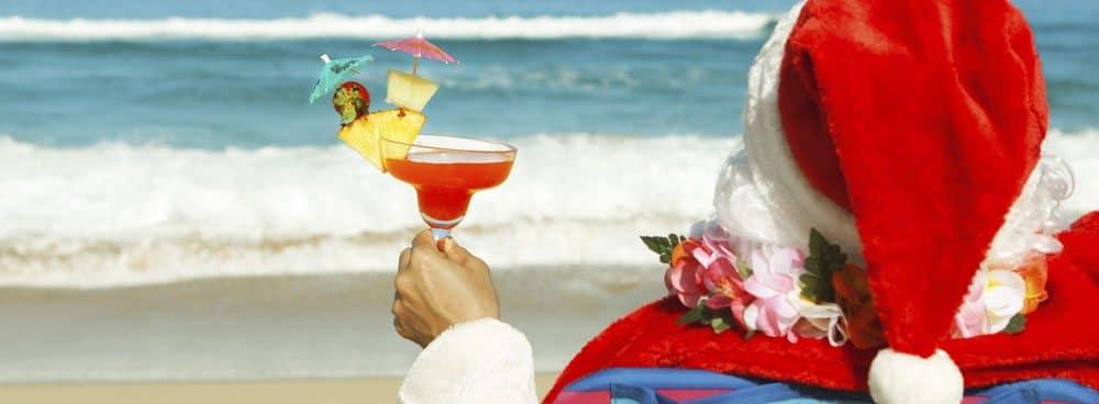 Orange Beach Christmas on the Beach Santa