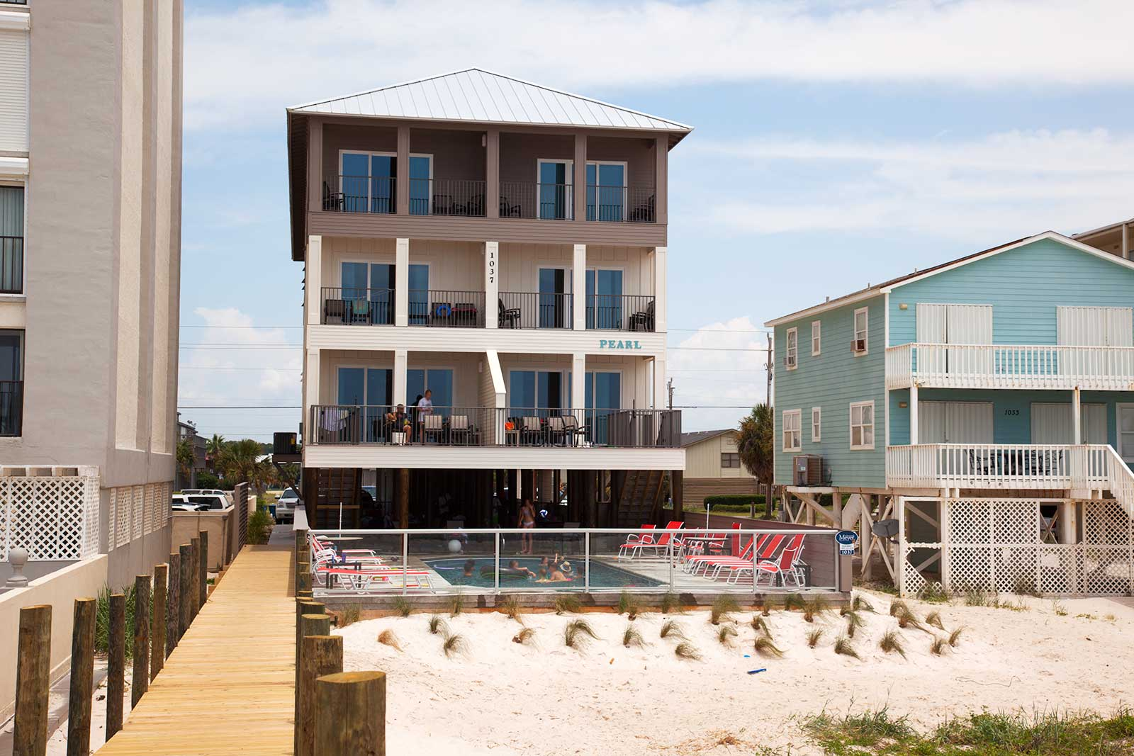 the pearl on west beach on gulf shores