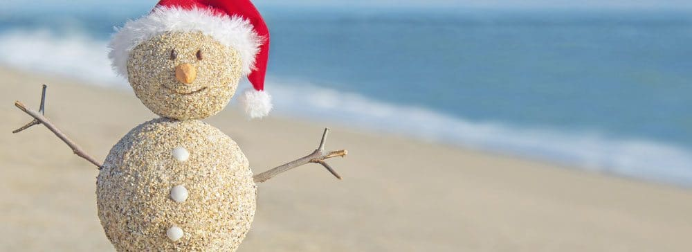 gulf shores christmas snowman - Christmas On The Beach