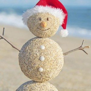Gulf Shores Things to Do for Christmas List Snowman
