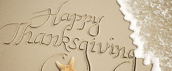 happy thanksgiving on the beach for house special deals mailing