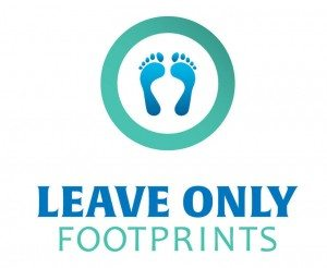 Leave Only Footprints Initiative Logo
